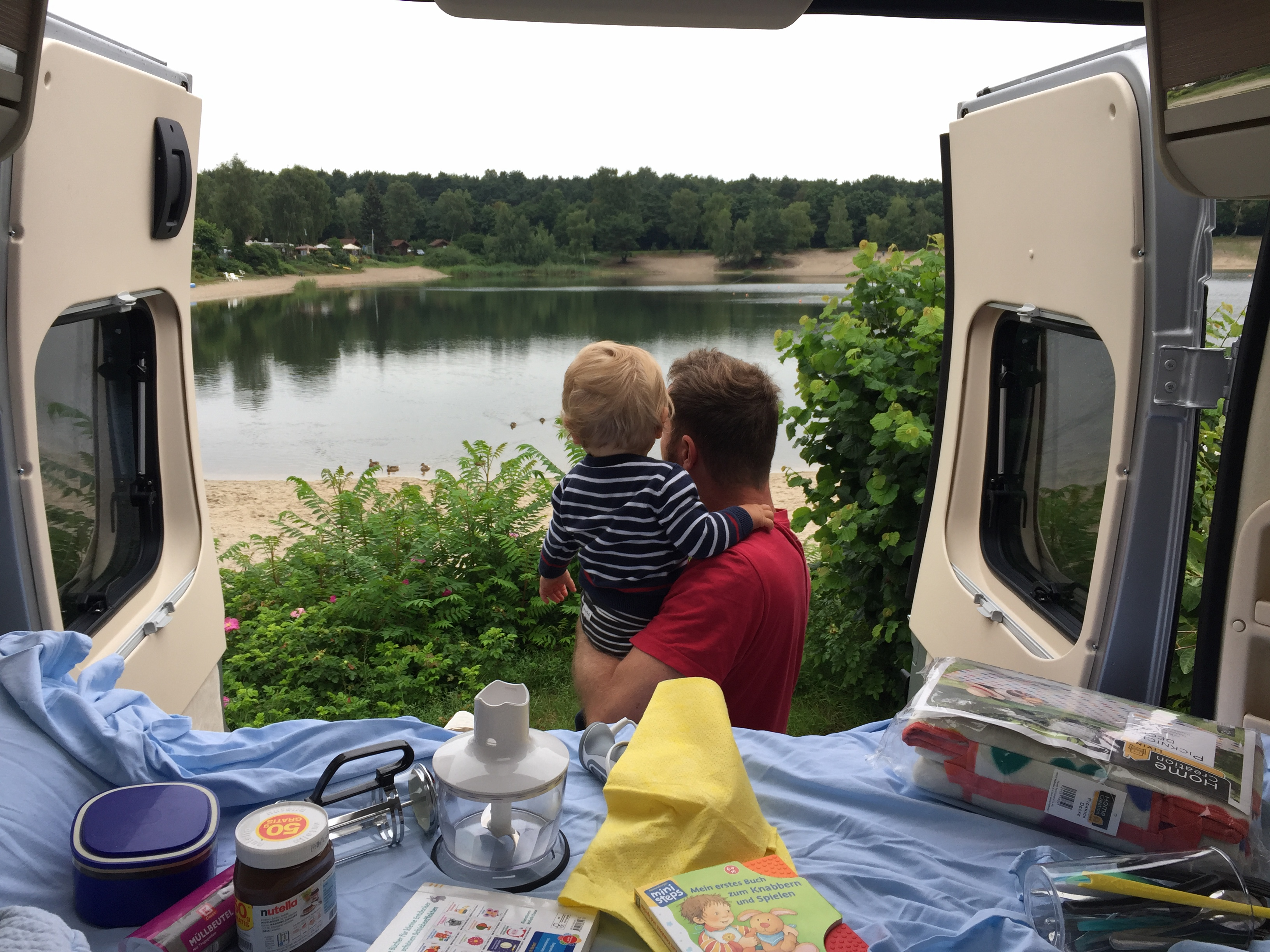 Reisen im Wohnmobil mit Kleinkind